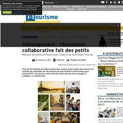 Hébergement : l'économie collaborative fait des petits