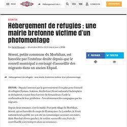 Hébergement de réfugiés : une mairie bretonne victime d'un photomontage