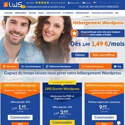 Hebergement Wordpress - Hébergeur web Wordpress pas cher