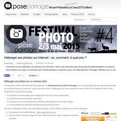 Héberger ses photos sur Internet : où, comment, à quel prix ?