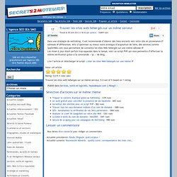 » Trouver les sites web hébergés sur un même serveur