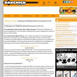 Interview de Mikael Viborg, patron de PRQ, l'hébergeur de Wikileaks et de Pirate Bay