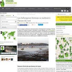 Les hébergeurs bretons se mettent à l'heure du vert