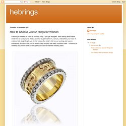 How to Choose Jewish Rings for Women
