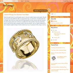 Jewish Rings For Women And Men