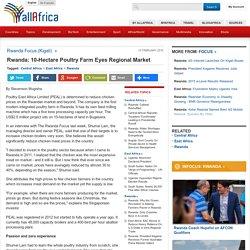 Rwanda: 10-Hectare Poultry Farm Eyes Regional Market