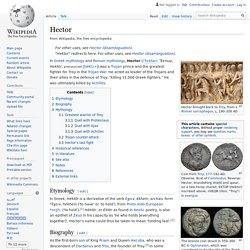 Hector - Wikipedia
