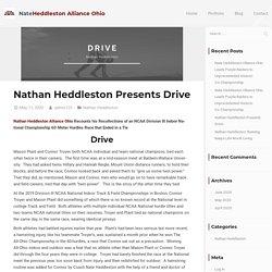 Nathan Heddleston Presents Drive - Nate Heddleston Alliance Ohio