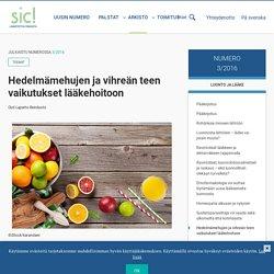 Hedelmämehujen ja vihreän teen vaikutukset lääkehoitoon - Sic!