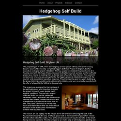 Hedgehog Self Build