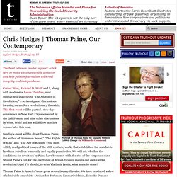 Thomas Paine, Our Contemporary