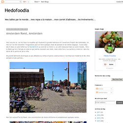Hedofoodia: Amsterdam Roest, Amsterdam