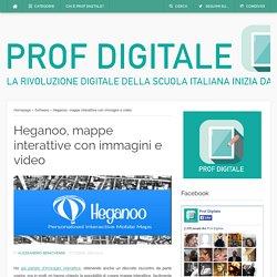 Heganoo, mappe interattive con immagini e video
