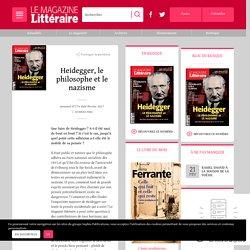 Le mag littéraire Heidegger, le philosophe et le nazisme