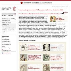 Journaux satiriques et caricatures de la guerre franco-prussienne (1870-1871) et de la Commune de Paris – Version numérisée