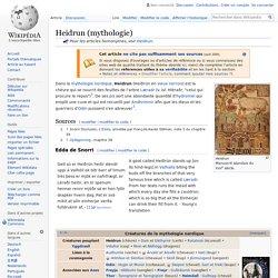 Heidrun (mythologie)
