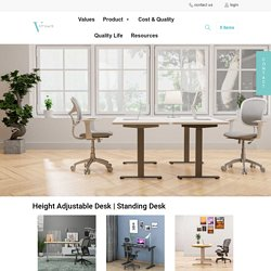 Affordable Height Adjustable Desk Supplier In USA