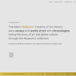 Heilbrunn Timeline of Art History | The Metropolitan Museum of A