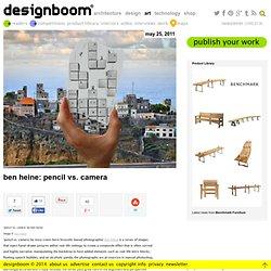 ben heine: pencil vs. camera
