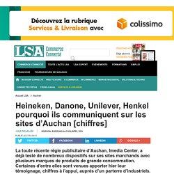Heineken, Danone, Unilever, Henkel pourquoi...