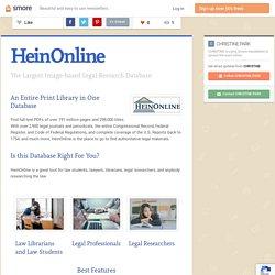 HeinOnline (Christine)