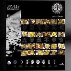 HEIRLOOM GALLERY - Moonphases :O)