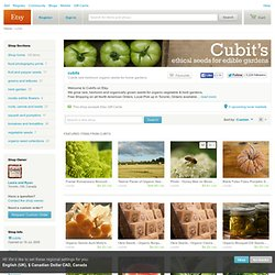 Free Shipping on Rare Heirloom & Organic Garden Seeds by cubits