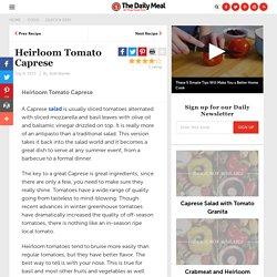 Heirloom Tomato Caprese Recipe by Josh Kroner