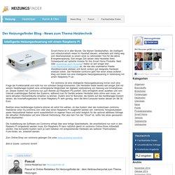 Intelligente Heizungssteuerung mit einem Raspberry Pi
