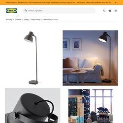 HEKTAR Stojací lampa, tmavě šedá