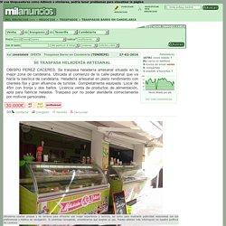 Se traspasa heladerÍa artesanal OBISPO PEREZ CACERES en Candelaria
