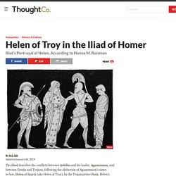 Helen of Troy in the Iliad of Homer