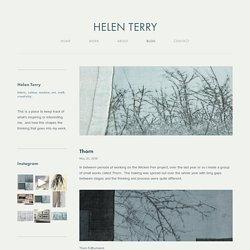 Helen Terry - Blog