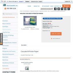 Helena Cascade M Printer Paper