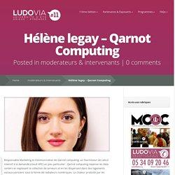 Hélène legay – Qarnot Computing