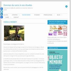 Hélène WEBER – Donnez du sens à vos études