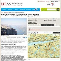 Helgetur langs Lysefjorden over Kjerag - Tur