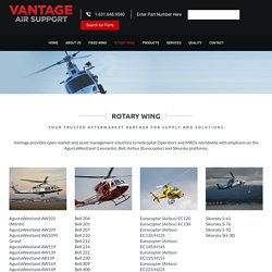 Rotary wing supply company to helicopter Operators and MROs worldwide