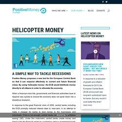 Helicopter money - Positive Money Europe