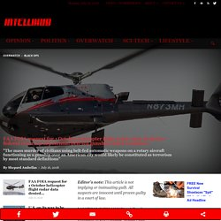 FAA FOIA request for 1 October helicopter flight radar data denied as federal cover-up of potential belt-fed gunship attack continues