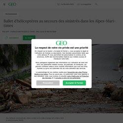 6 oct. 2020 - Ballet d'hélicoptères au secours des sinistrés dans les Alpes-Maritimes