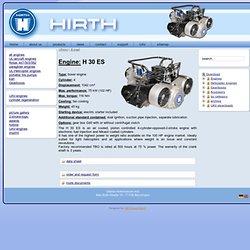 Helikoptermotor H 30 ES