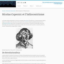 Nicolas Copernic et l'héliocentrisme - Astronomie et Astrophysique