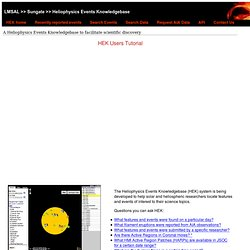 Heliophysics Events Knowledgebase