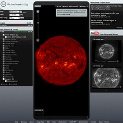 Helioviewer.org - Solar and heliospheric image visualization tool