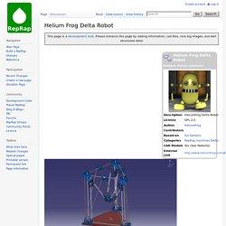 Helium Frog Delta Robot