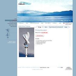 Helix Wind - S322 - Savonius VAWT