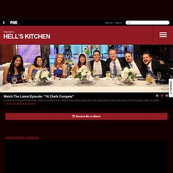 Hell's Kitchen on FOX - Official Site