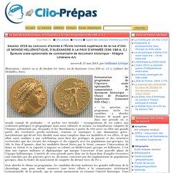 Le monde hellénistique, d'Alexandre à la Paix d'Apamée (336-188 a. C.)