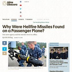 Why Were Hellfire Missiles Found on a Passenger Plane?